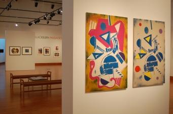 """David C. Driskell Center Gallery. """"Robert Blackburn: Passages"""" exhibition. Fall 2014."""